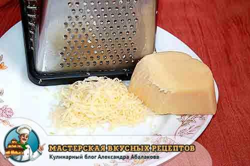 натертый сыр для чипсов