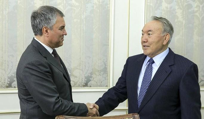 Володин: Россия и Казахстан …