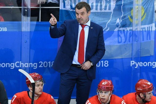СМИ: тренер хоккейной сборной США не пожал руку Знарку после матча на ОИ