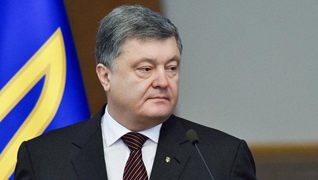 Порошенко отказался разблоки…
