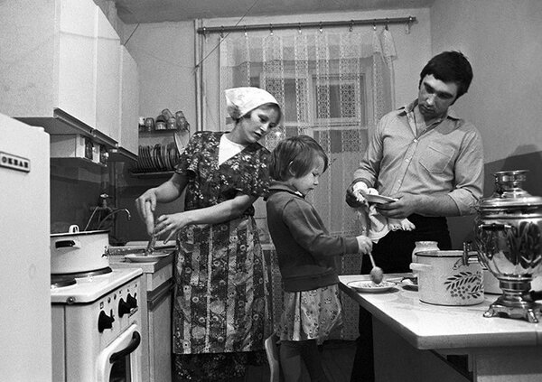 Суп с воспоминаниями о СССР. Кухня в СССР. Фото pikabu.ru