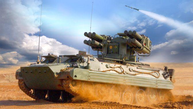 В России успешно испытан новейший ЗРК «Багульник»