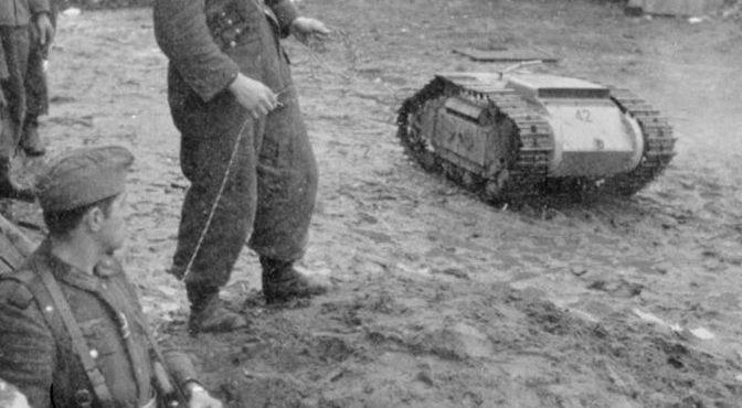От «Голиафа» до «шарика ярости»: ТОП самых уникальных взрывных устройств