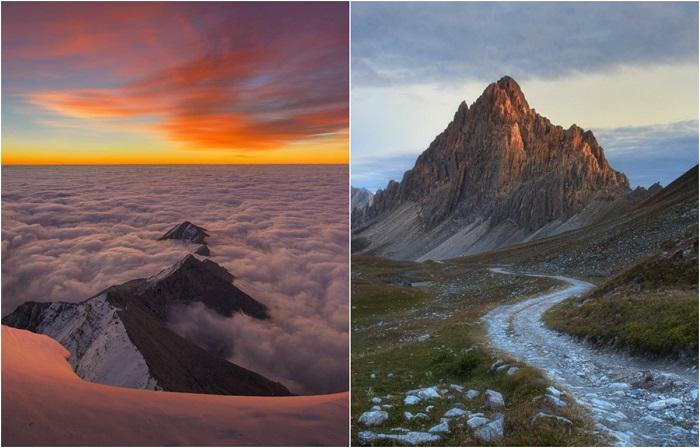 Неземная красота Альп: 20 завораживающих пейзажей от фотографа, который нашёл в горах свободу
