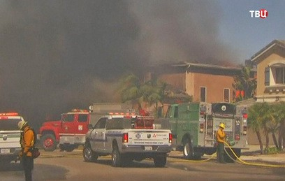 Жертвами лесных пожаров в Калифорнии стали 10 человек