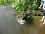 наше первое купание