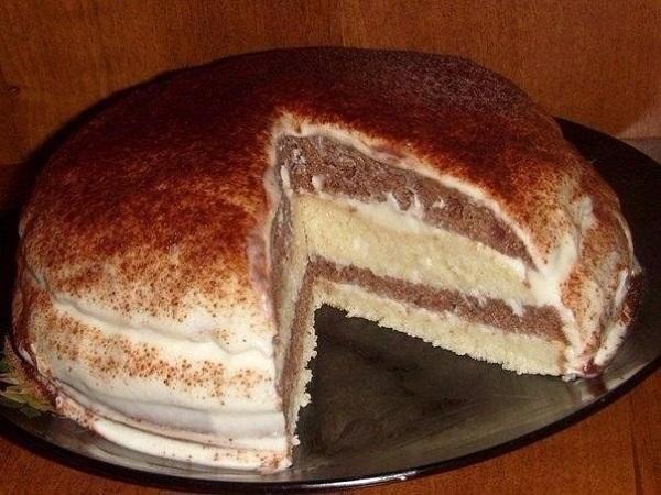 Кефирный торт: отличный десерт для пасмурного осеннего вечера!