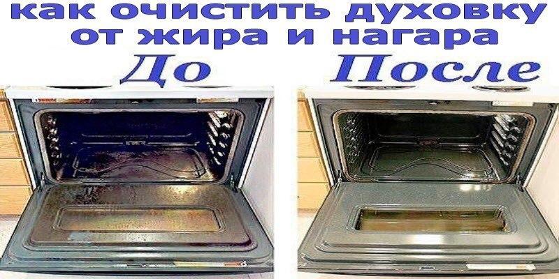 Как очистить духовку от жира и нагара?