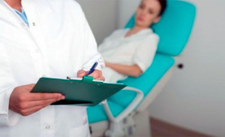 пациентка на приеме