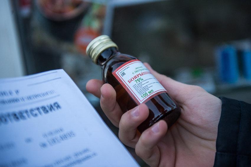 В России запретили торговлю спиртосодержащей продукцией