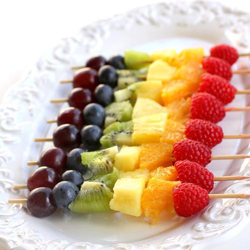 фруктовые шашлыки
