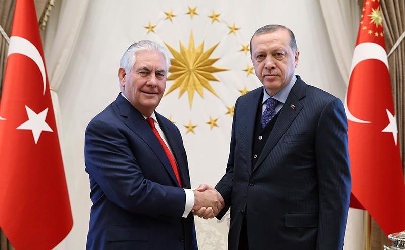 Пощечина Эрдогана Тиллерсону: Погибнут американцы, а не турки