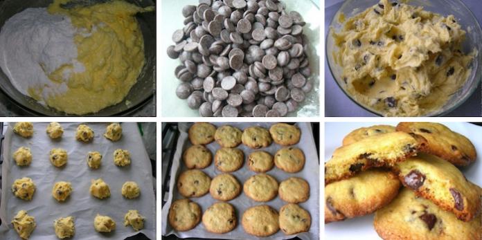 Печенье с шоколадными каплями: Воздушное и нежное