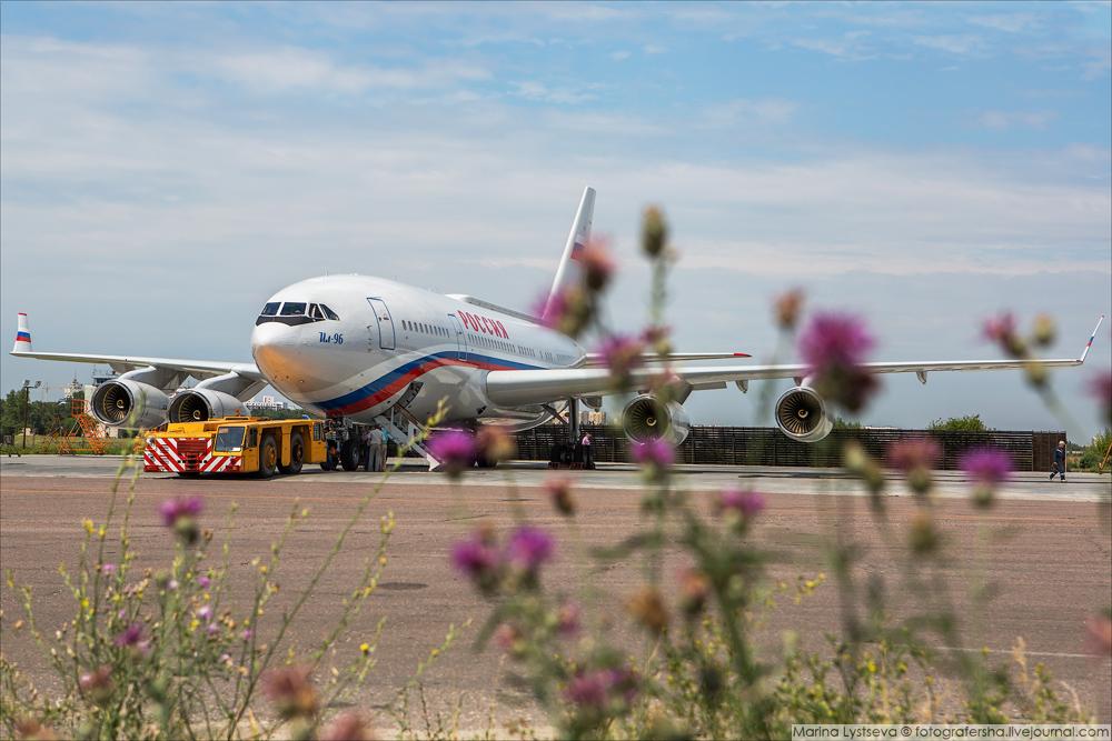 Новый Ил-96 для президента