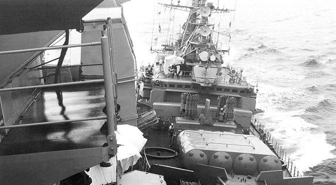 Сумасшедшие «Иваны»: как советские корабли обратили в бегство американский крейсер