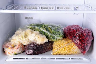 Ошибки при хранении продуктов в морозильной камере