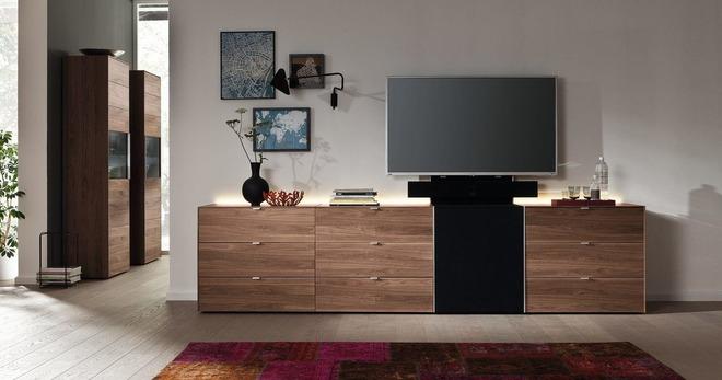 Комод под телевизор – особенности низкого, высокого, углового, подвесного и других видов
