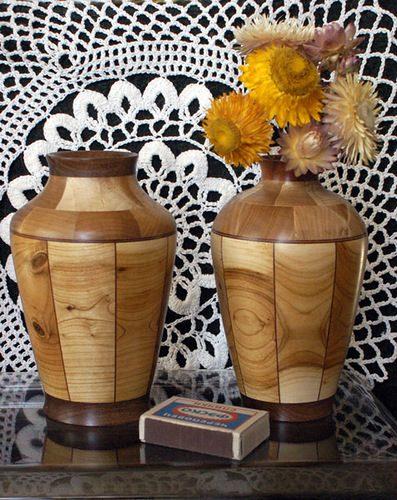 """Изготовление сегментной вазы""""Греческий мотив"""""""