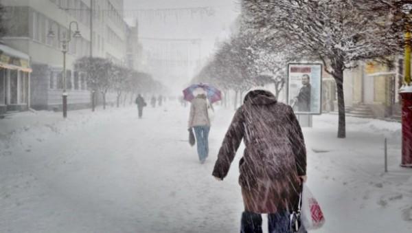 Киев глазами россиянина. Зим…