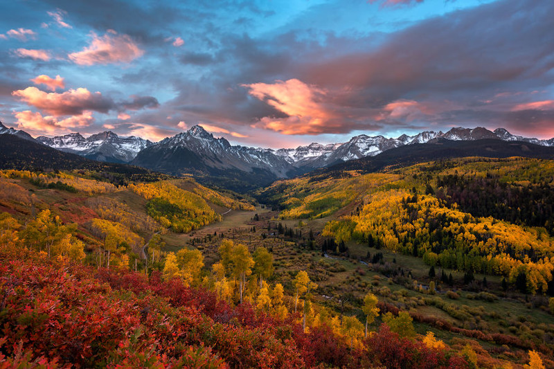 Гора Снеффелс, Колорадо Северная Америка, путешествие, фотография