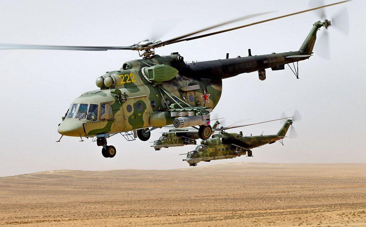 """Защитный комплекс """"Президент-С"""" спас российский вертолет Ми-8 в Сирии"""