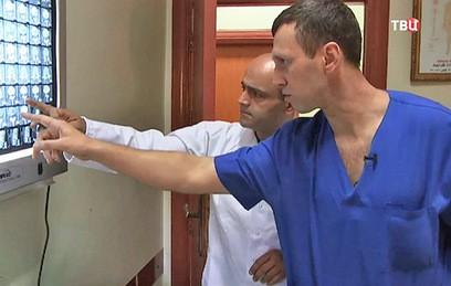Российские медики развернули новый госпиталь в Алеппо