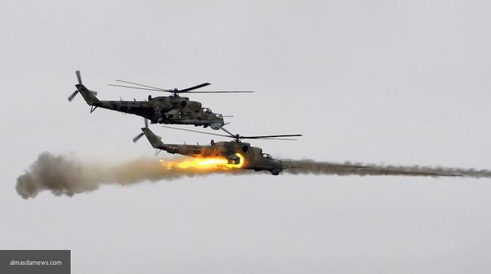 Сирийские вертолеты сбросили бочковые бомбы на головы исламистов