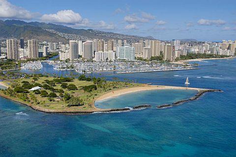 Гавайям угрожает цунами высотой 300 метров