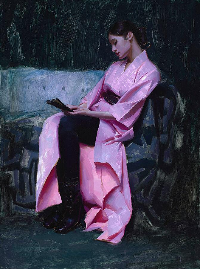 Лёд и пламя: живопись современного художника Аарона Вестерберга.