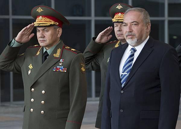 Сергей Шойгу в Тель-Авиве: Операция в Сирии близка к завершению