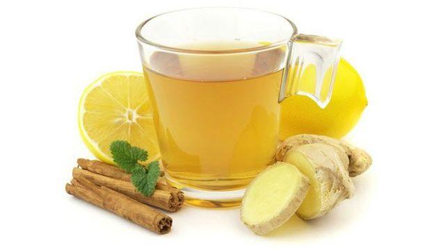 Рецепт классического имбирного чая!