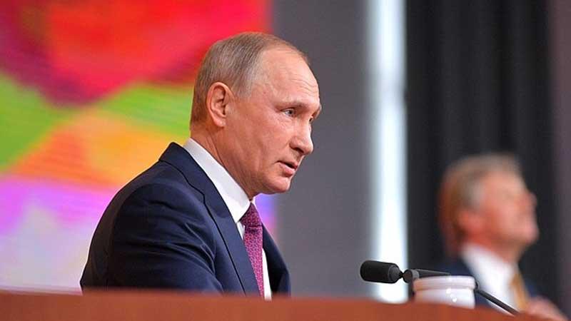 Не мешайте Путину работать.