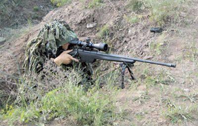 Ночных снайперов ЮВО оснастили лазерными прицелами и тепловизорами