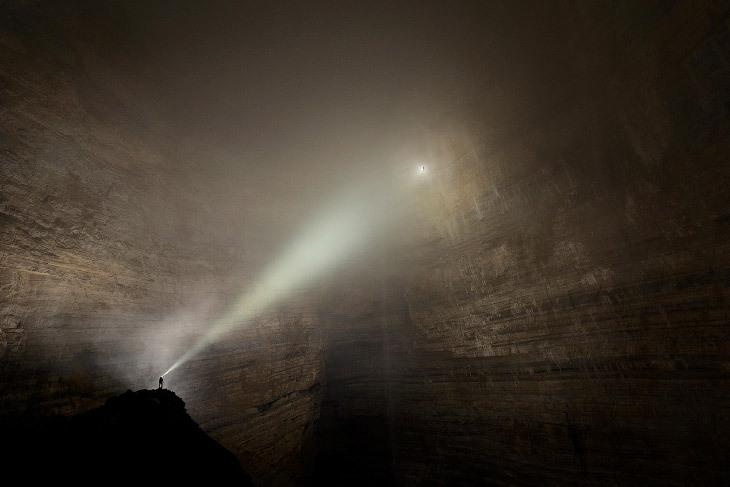 Потрясающие фото пещер