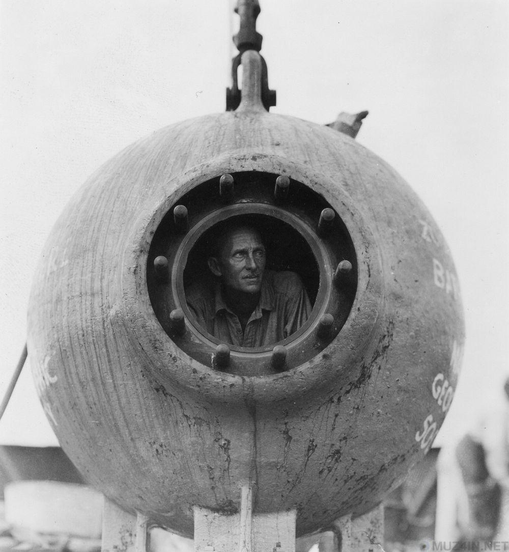 «Батисфера»: первое в мире глубоководное исследовательское судно