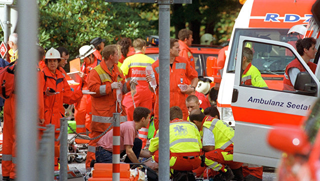 В Швейцарии столкнулись два поезда, пострадали более 27 человек