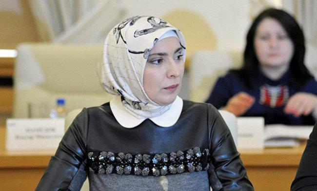 Знакомьтесь! Жена муфтия Дагестана, тоже хочет стать президентом России.