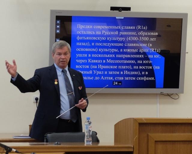 Анатолий Клёсов: Конфликт России и Запада – продолжение битвы цивилизаций ариев и эрбинов