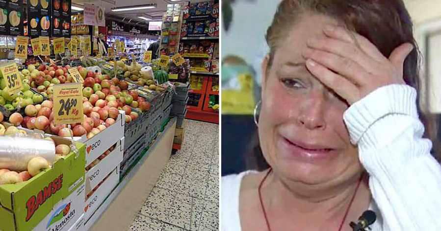 Мать 3 детей украла еду в магазине. Но, полицейские, проследившие за ней, отреагировали совершенно нестандартно!
