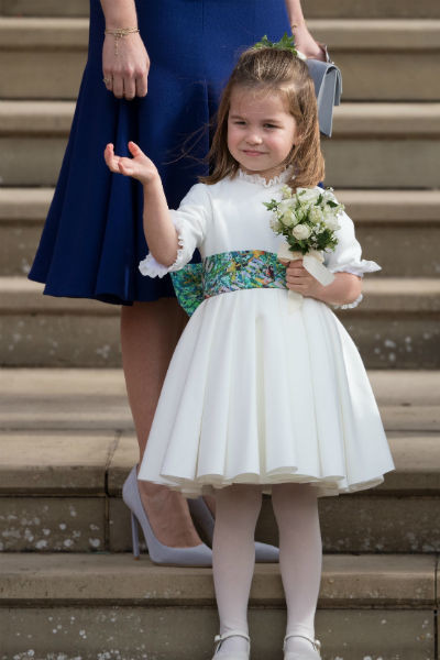 Шарлотта на свадьбе принцессы Евгении