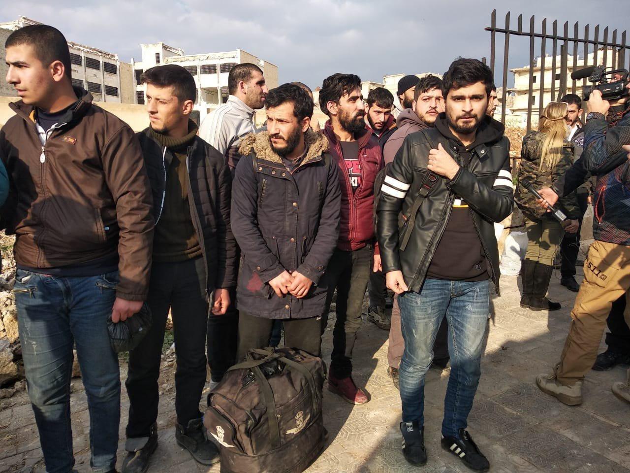В сирийском Алеппо состоялся обмен военнопленными