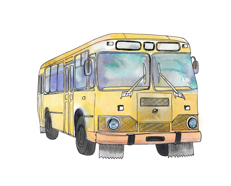 Ода автобусу ЛиАЗ-677