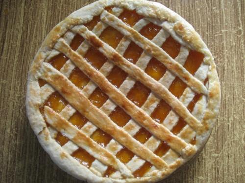 Пирог к чаю с абрикосовым повидлом