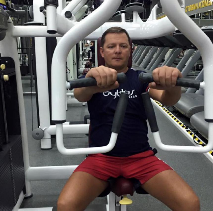 «Старость – не радость»: Олег Ляшко впервые в жизни посетил спортзал