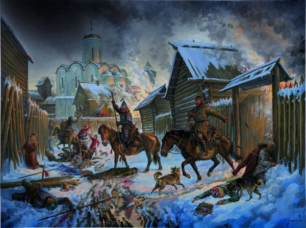 Татаро-монгольское нашествие и фигура хана Батыя.