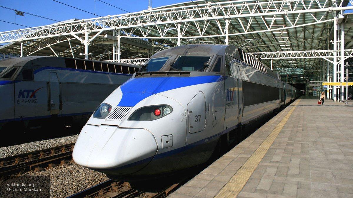 В Южной Корее поезд сошел с …