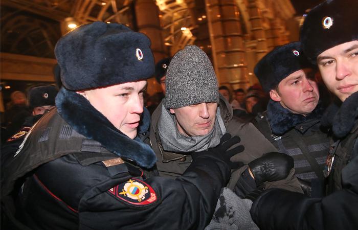 Охи Ахеджаковой по Навальному: «Алешку задержали на Тверской? Кто бы сомневался»