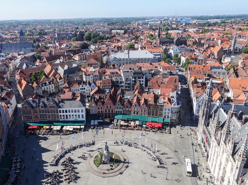 Бельгия, город Брюгге