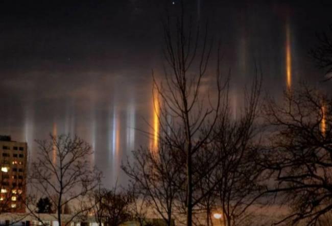 Загадочные световые явления