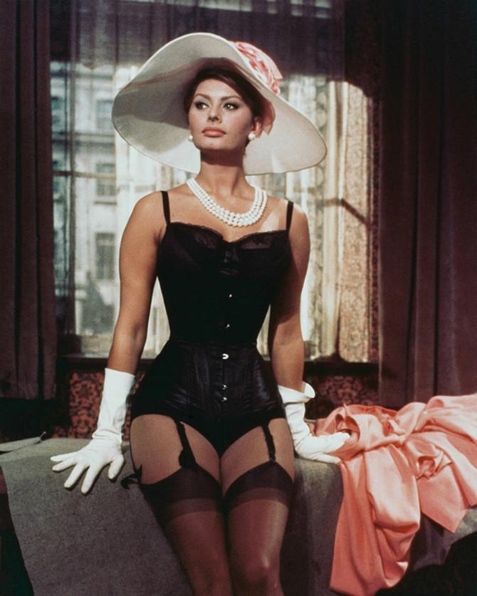 Итальянская актриса Софи Лорен 20 век, актрисы, кино